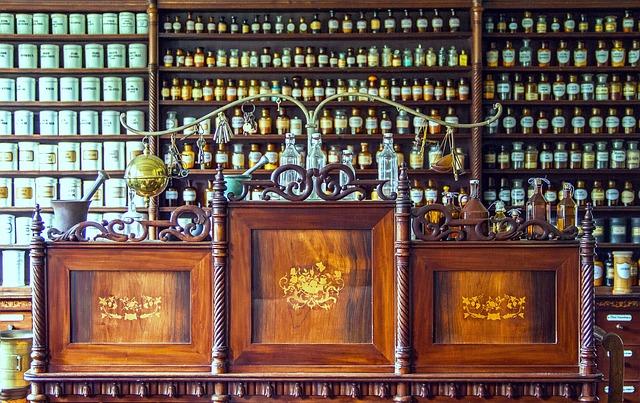 Quelle: pixabay.com/de/photos/apotheke-tresen-medizin-1507122/